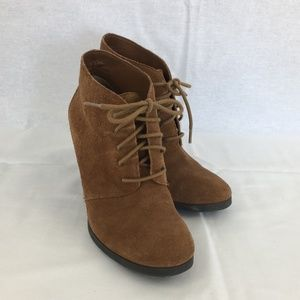 FRANCO SARTO - Wenda Brown Suede Boot.